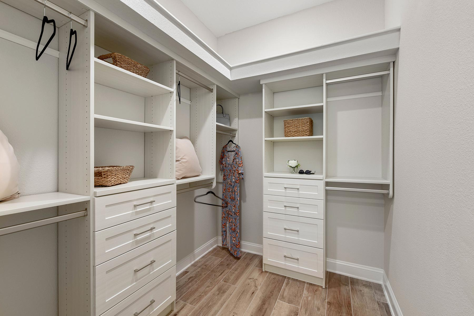 Court Plan Closet at RiverTown - WaterSong in St. Johns Florida by Mattamy Homes