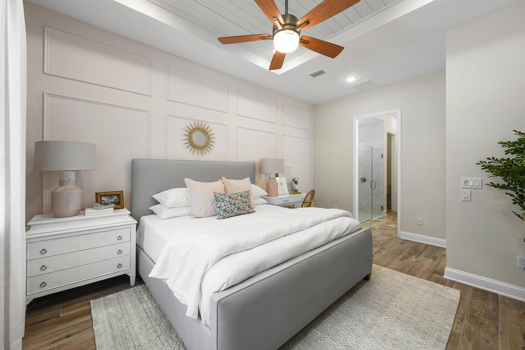 Court Plan Bedroom at RiverTown - WaterSong in St. Johns Florida by Mattamy Homes