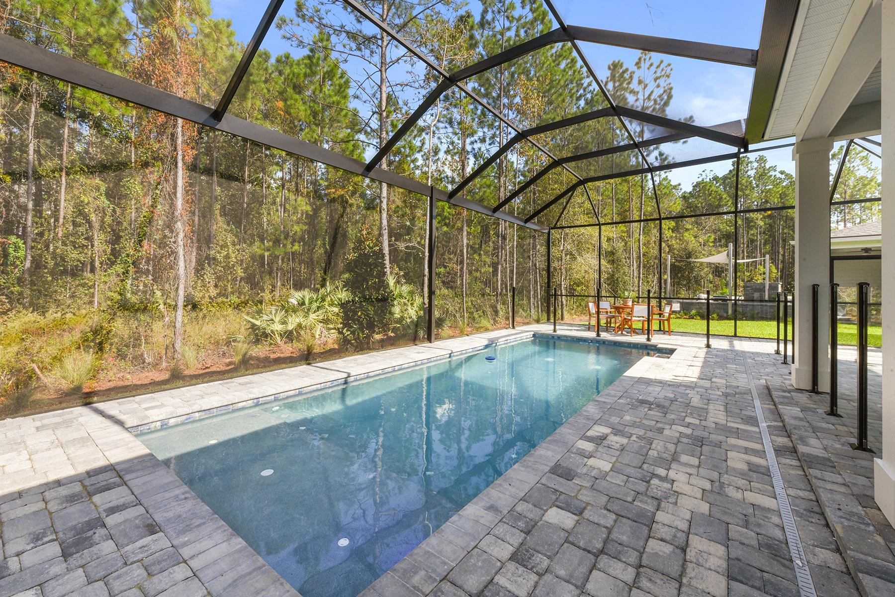 Court Plan WaterFeatures at RiverTown - WaterSong in St. Johns Florida by Mattamy Homes