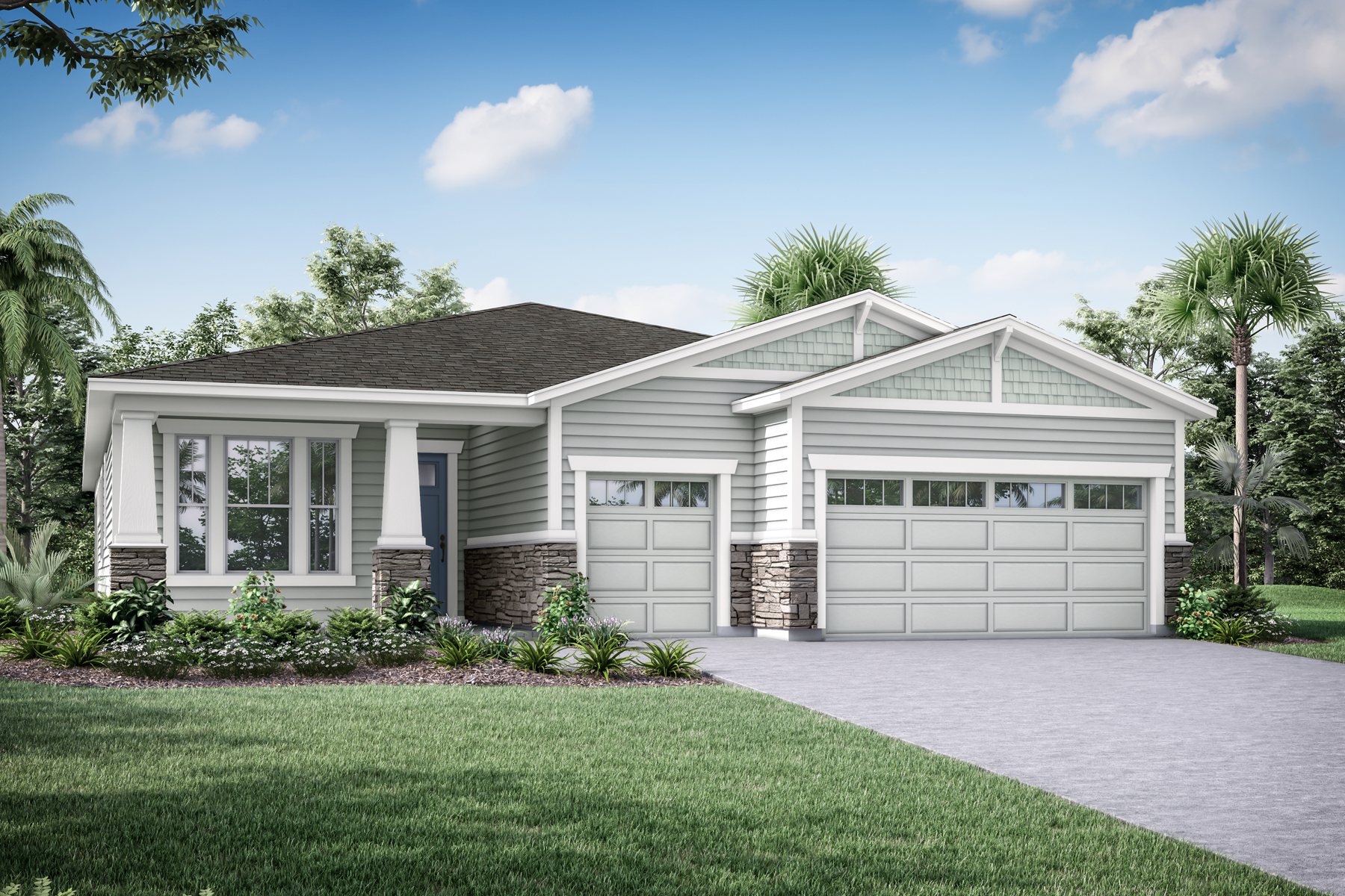 Harbor Plan jax_watersong_harbor_craftsman at RiverTown - WaterSong in St. Johns Florida by Mattamy Homes