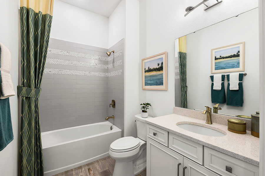 Harbor Plan Bath at RiverTown - WaterSong in St. Johns Florida by Mattamy Homes