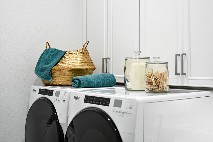 Harbor Plan Laundry at RiverTown - WaterSong in St. Johns Florida by Mattamy Homes