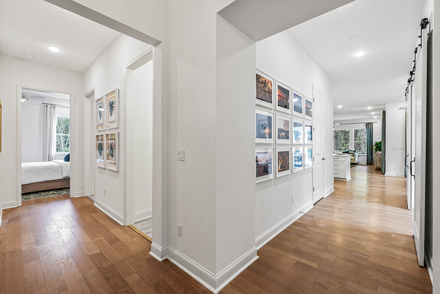 Harbor Plan Hallway at RiverTown - WaterSong in St. Johns Florida by Mattamy Homes