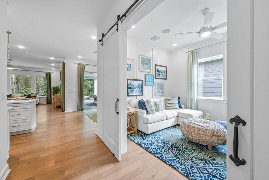 Harbor Plan Study Room at RiverTown - WaterSong in St. Johns Florida by Mattamy Homes