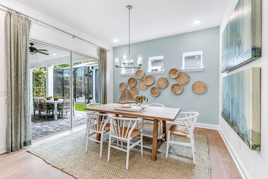 Harbor Plan Dining at RiverTown - WaterSong in St. Johns Florida by Mattamy Homes