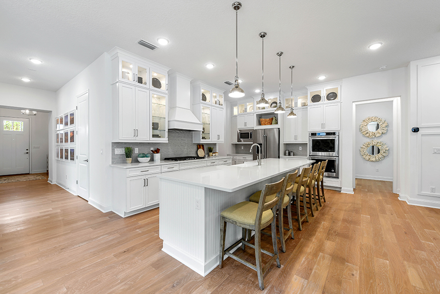 Harbor Plan Kitchen at RiverTown - WaterSong in St. Johns Florida by Mattamy Homes