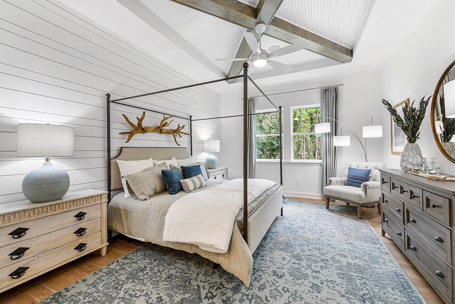 Harbor Plan Bedroom at RiverTown - WaterSong in St. Johns Florida by Mattamy Homes