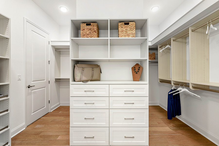 Harbor Plan Closet at RiverTown - WaterSong in St. Johns Florida by Mattamy Homes