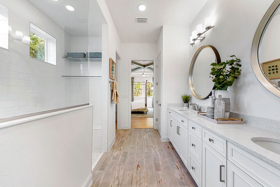 Harbor Plan Bathroom_Master Bath at RiverTown - WaterSong in St. Johns Florida by Mattamy Homes