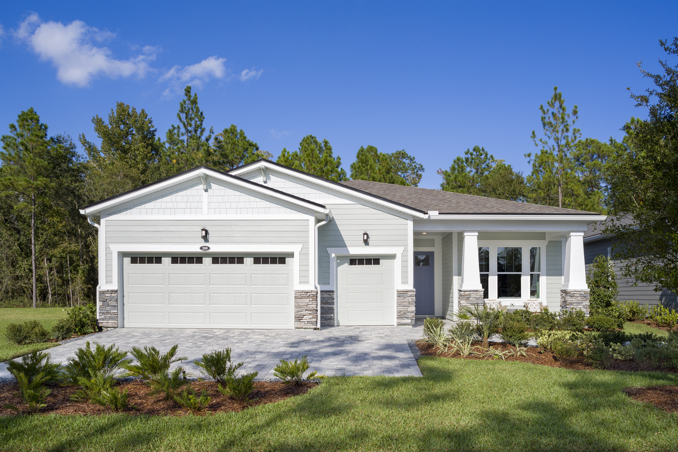 Harbor Plan Elevation Front at RiverTown - WaterSong in St. Johns Florida by Mattamy Homes