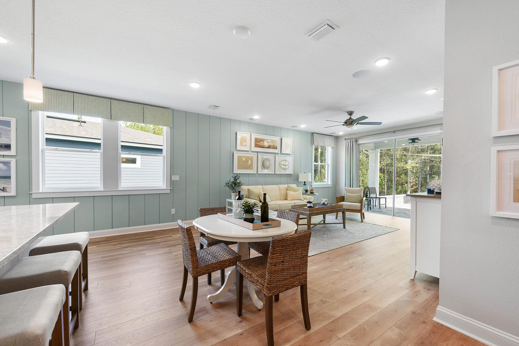 Ocean Plan Dining at RiverTown - WaterSong in St. Johns Florida by Mattamy Homes