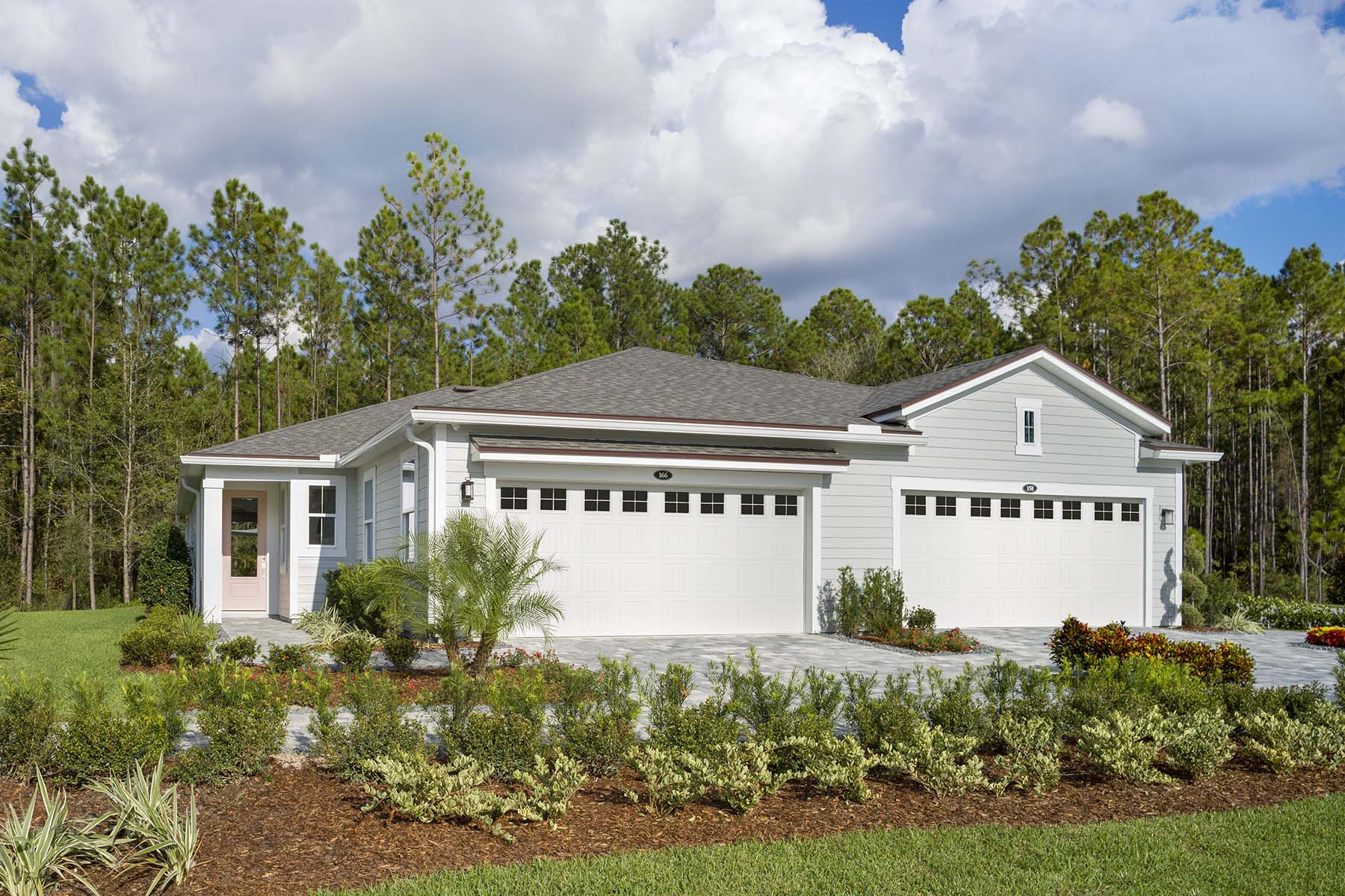 Ocean Plan Elevation Front at RiverTown - WaterSong in St. Johns Florida by Mattamy Homes