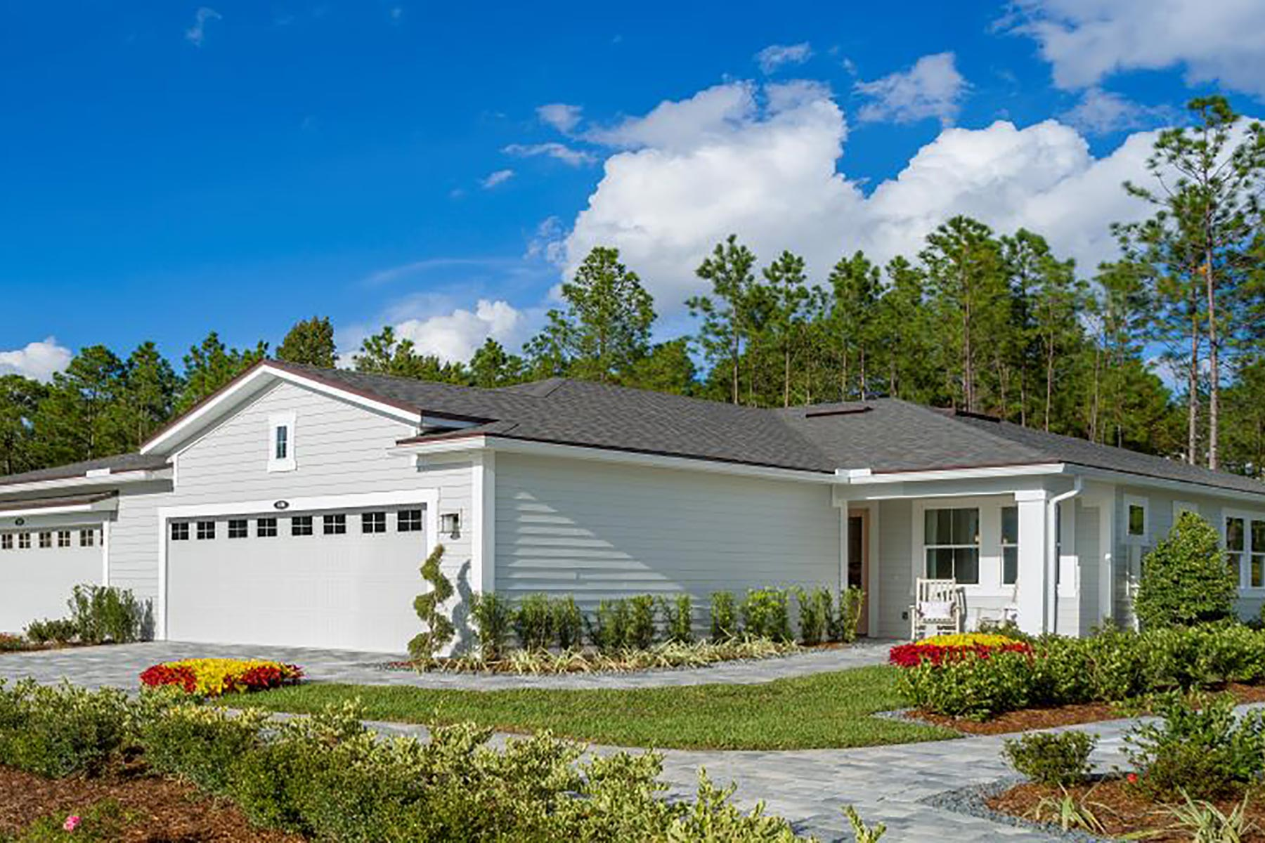 River Plan Elevation Front at RiverTown - WaterSong in St. Johns Florida by Mattamy Homes