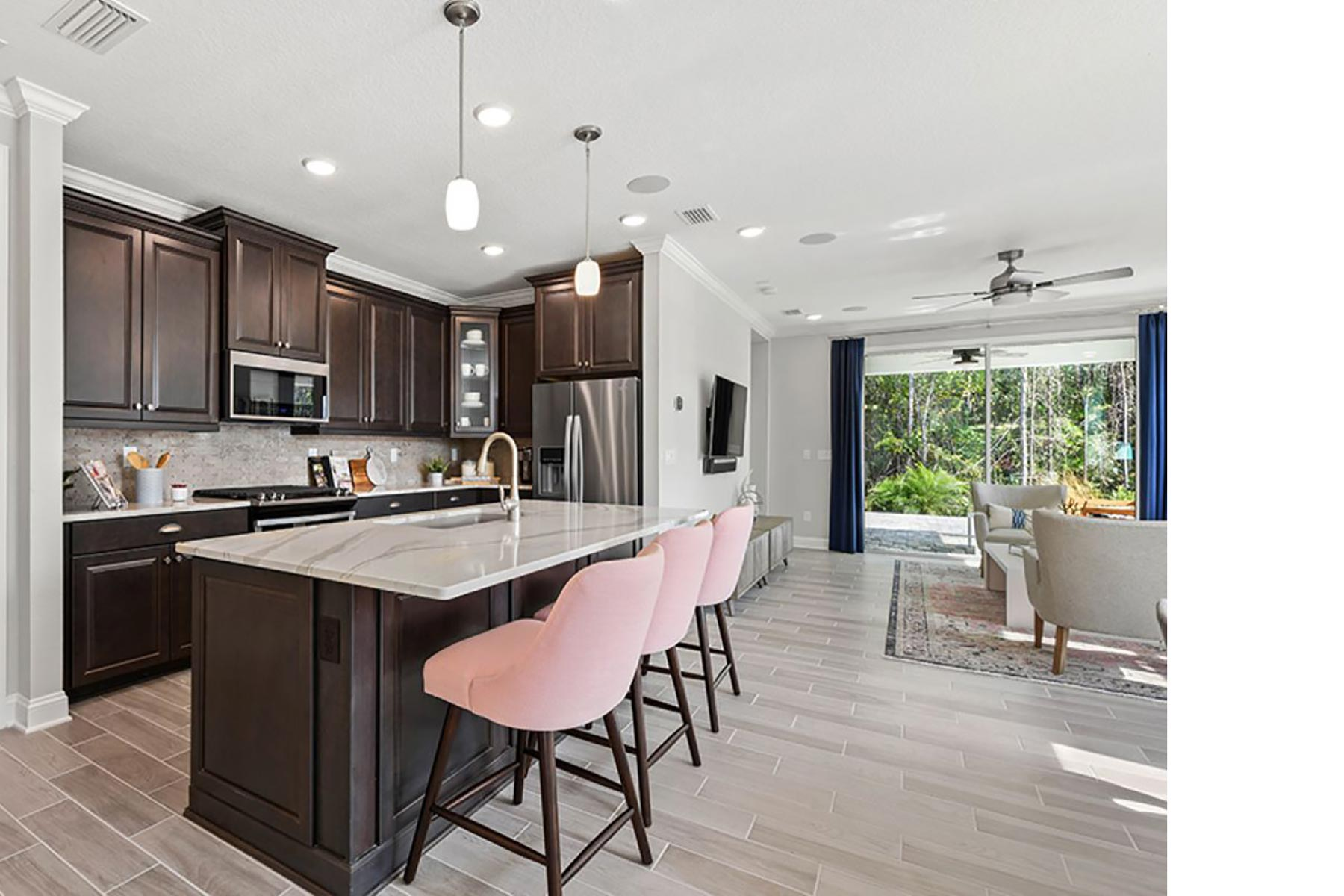 River Plan Kitchen at RiverTown - WaterSong in St. Johns Florida by Mattamy Homes