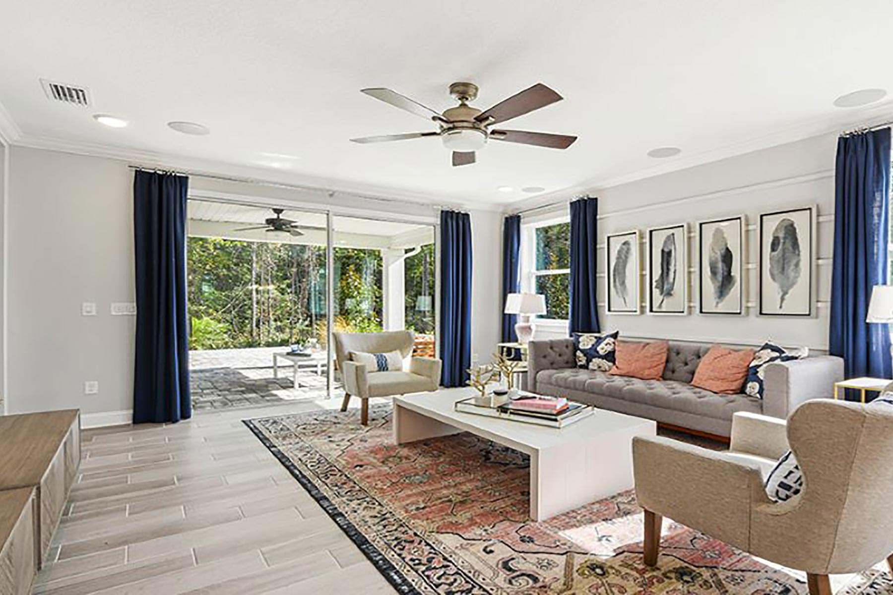 River Plan Greatroom at RiverTown - WaterSong in St. Johns Florida by Mattamy Homes