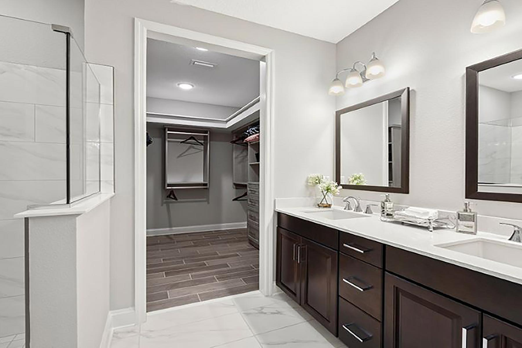 River Plan Bathroom_Master Bath at RiverTown - WaterSong in St. Johns Florida by Mattamy Homes