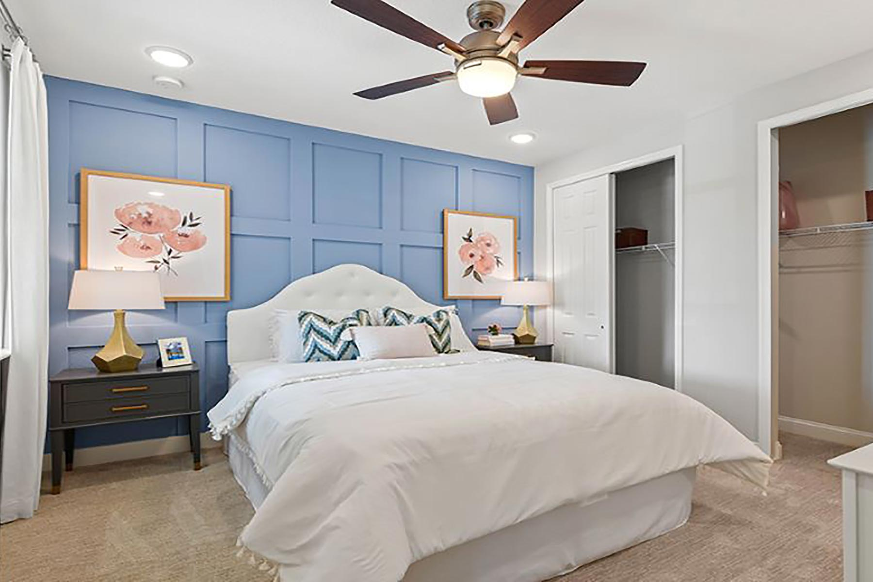 River Plan Bedroom at RiverTown - WaterSong in St. Johns Florida by Mattamy Homes