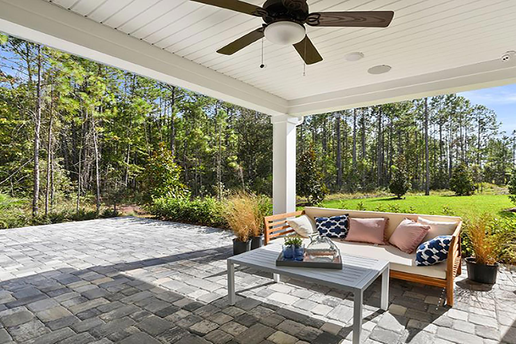 River Plan Patio at RiverTown - WaterSong in St. Johns Florida by Mattamy Homes