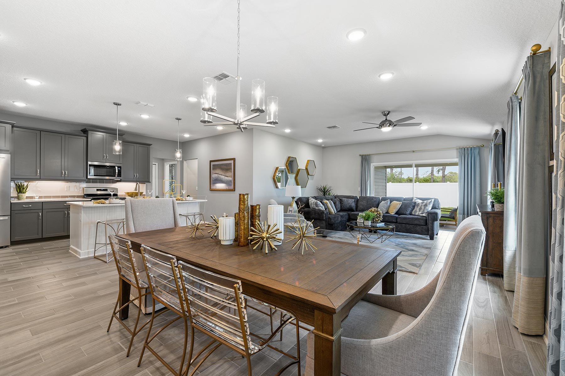 Wells Creek Dining in Jacksonville Florida by Mattamy Homes