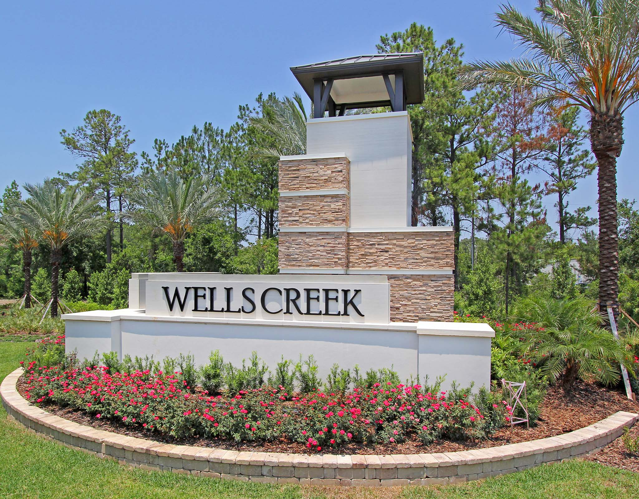 Wells Creek Monument in Jacksonville Florida by Mattamy Homes