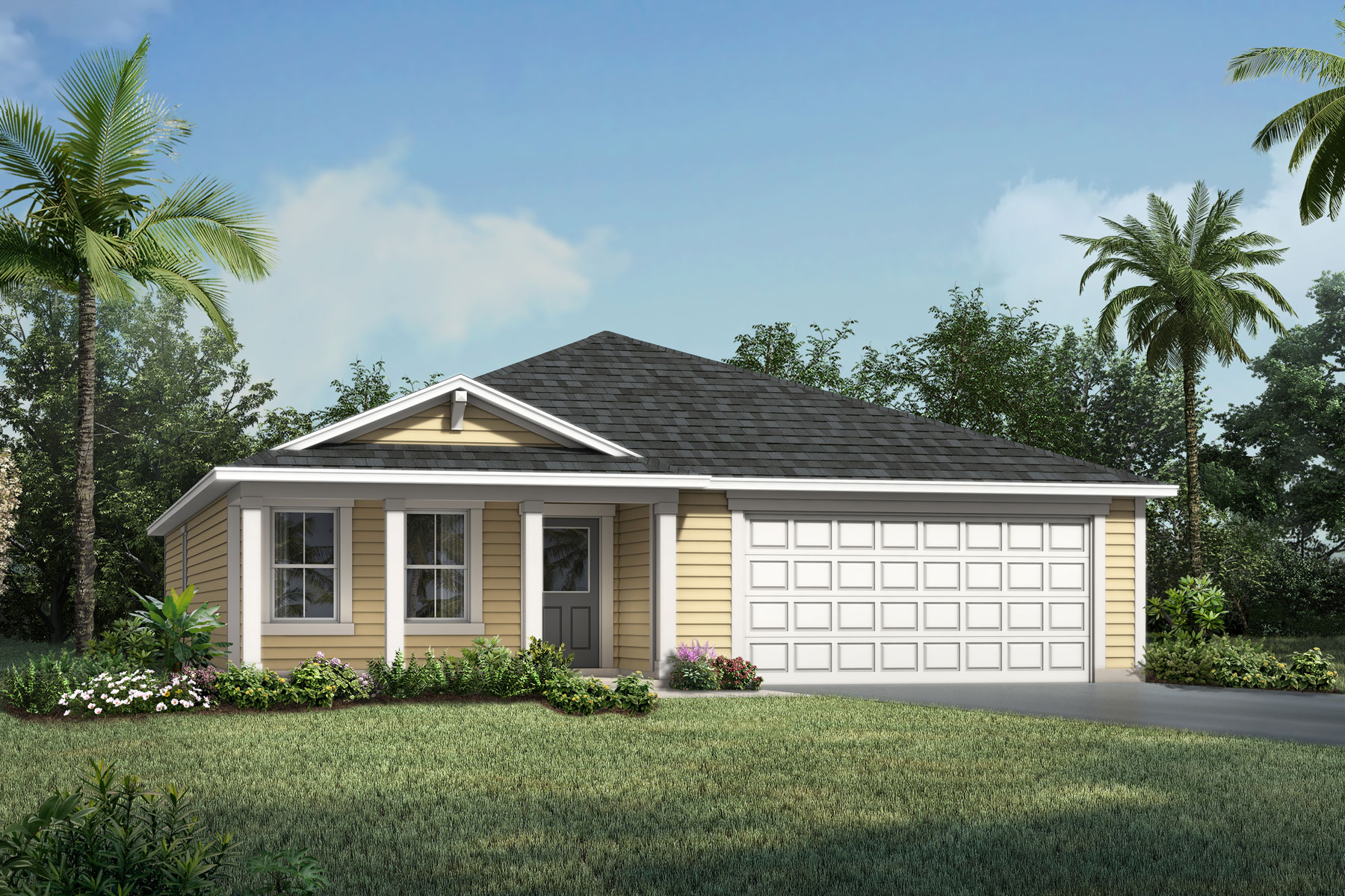 Wells Creek Elevation Front in Jacksonville Florida by Mattamy Homes