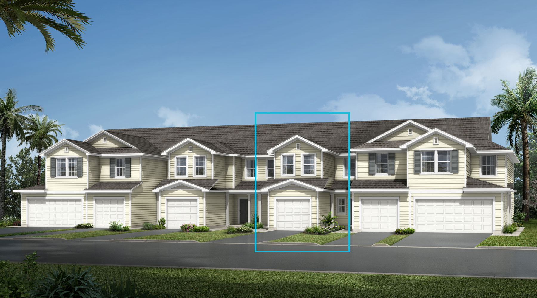 Cove Plan elevationlowcountry_wellscreek_cove at Wells Creek in Jacksonville Florida by Mattamy Homes