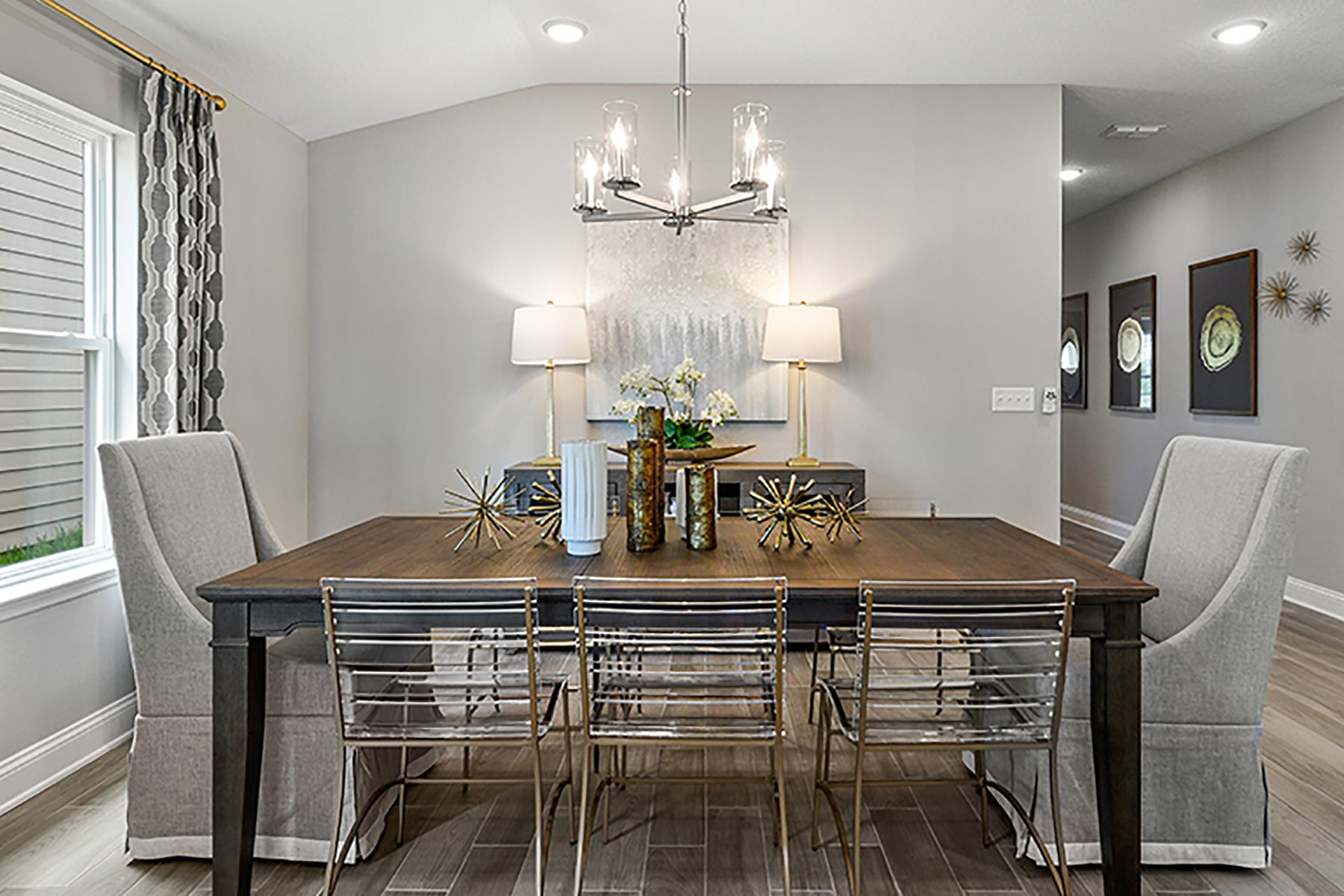 Elm Plan Dining at Wells Creek in Jacksonville Florida by Mattamy Homes