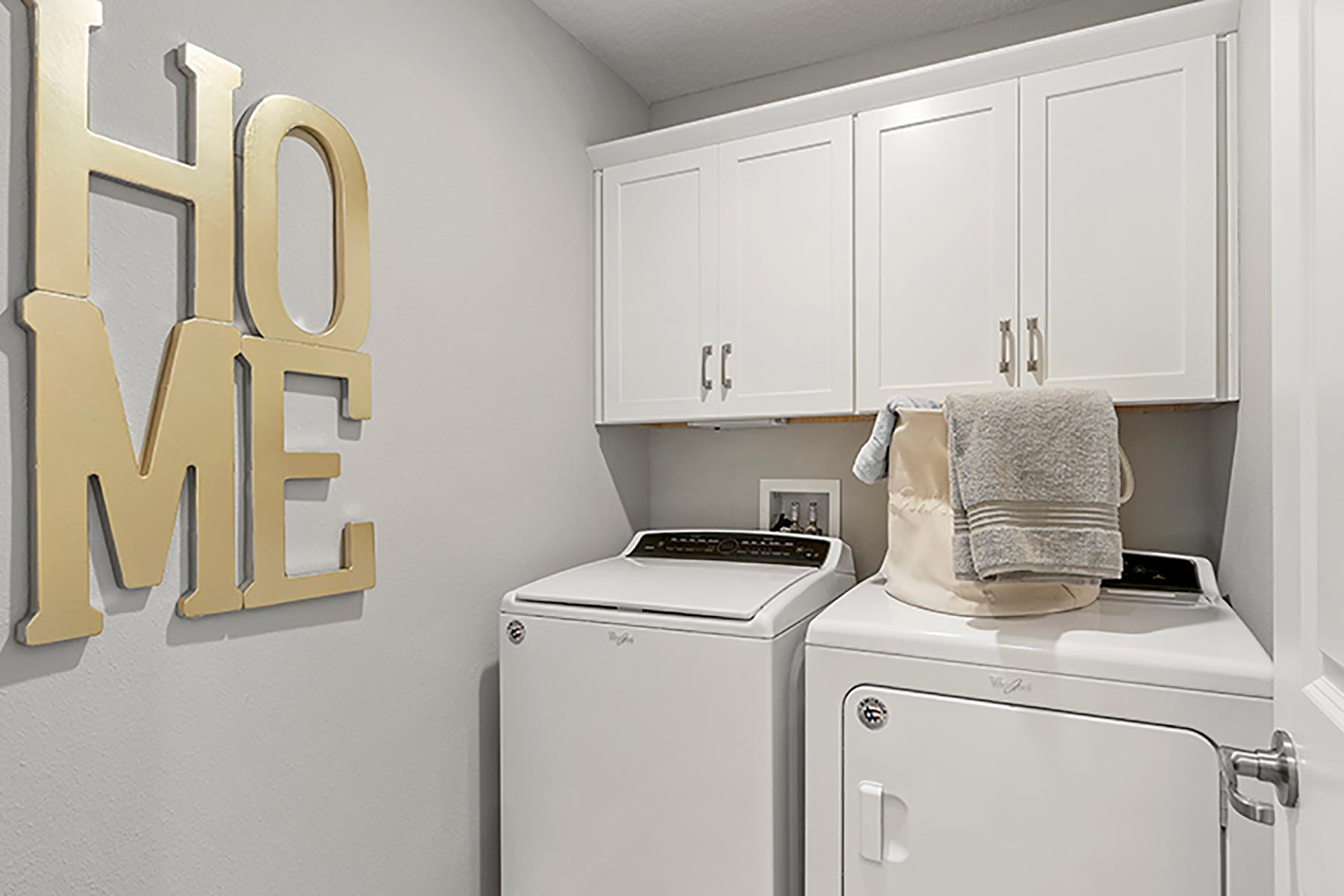 Elm Plan Laundry at Wells Creek in Jacksonville Florida by Mattamy Homes