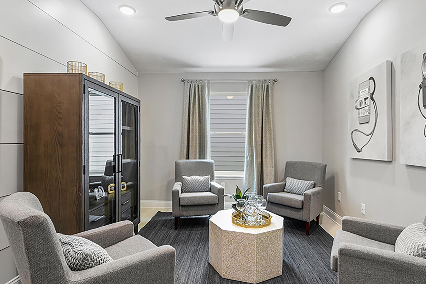 Elm Plan Recreation Room at Wells Creek in Jacksonville Florida by Mattamy Homes