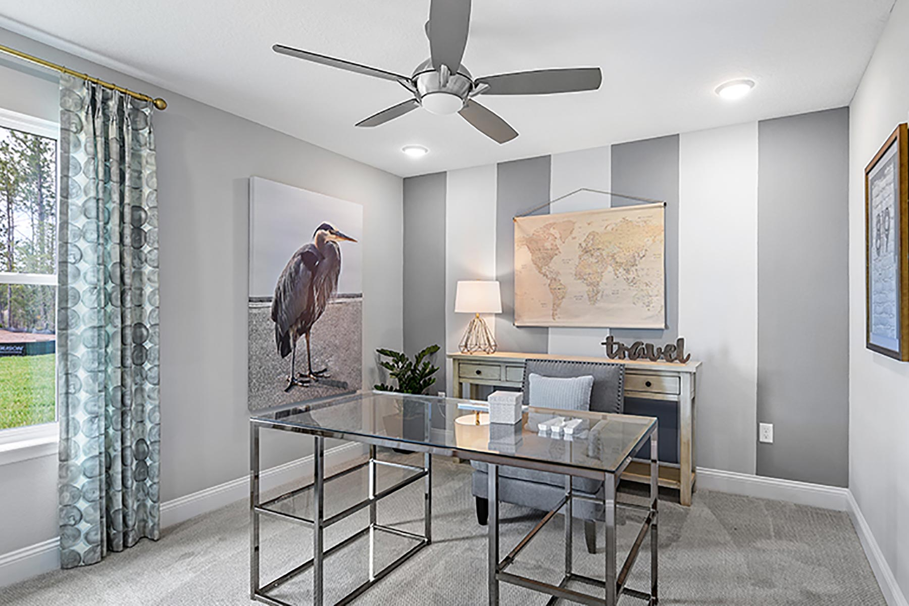 Elm Plan Study Room at Wells Creek in Jacksonville Florida by Mattamy Homes