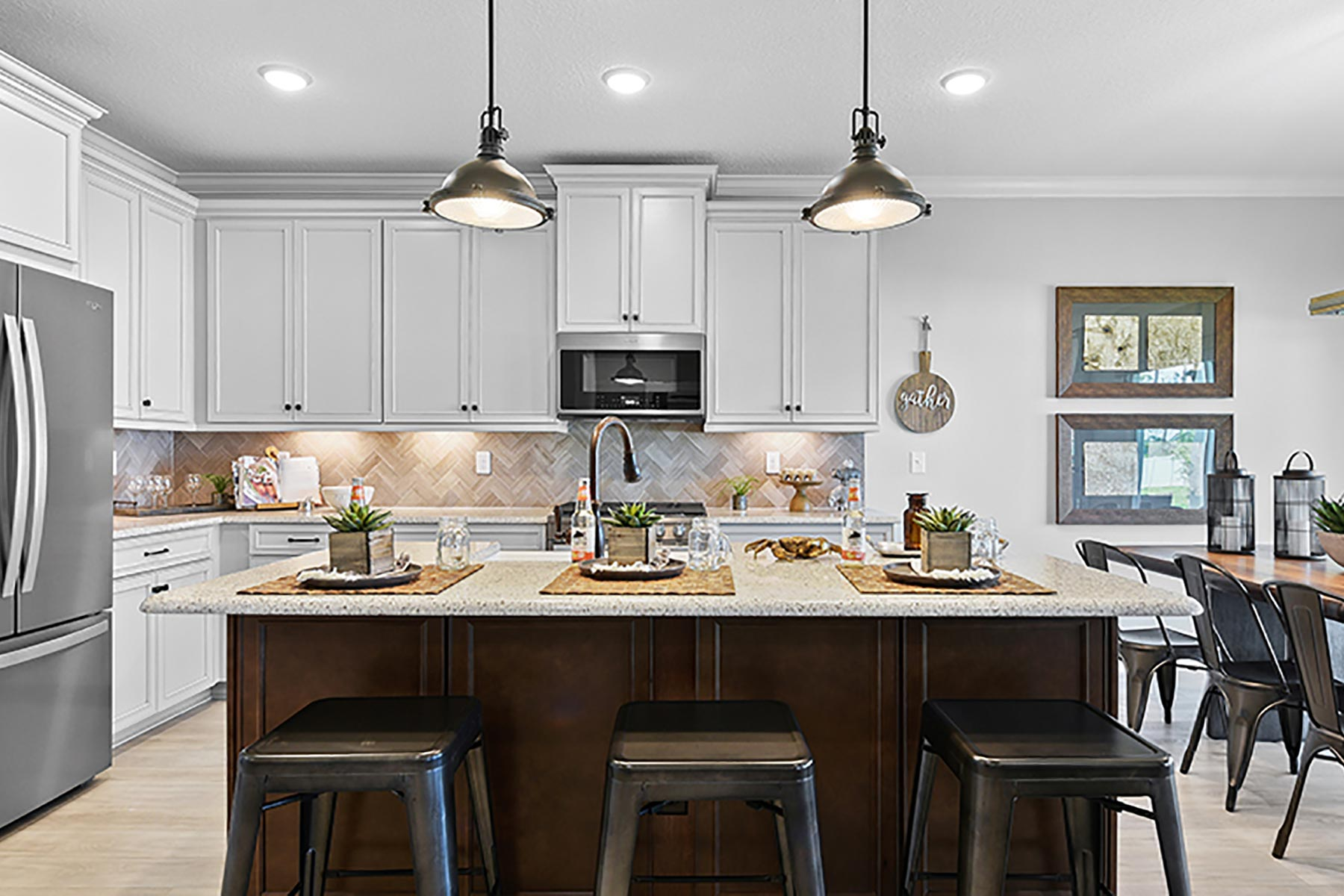 Wells Creek Kitchen in Jacksonville Florida by Mattamy Homes