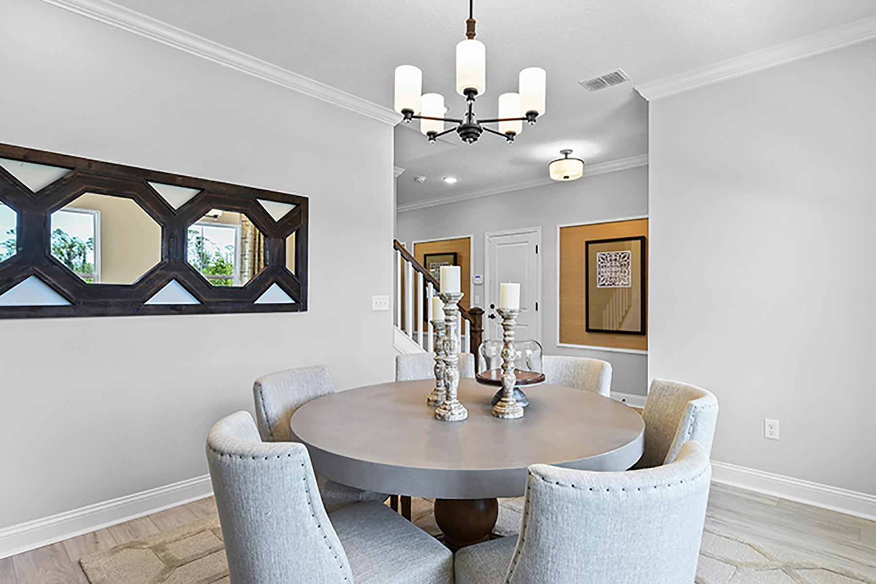 Linden Plan Dining at Wells Creek in Jacksonville Florida by Mattamy Homes