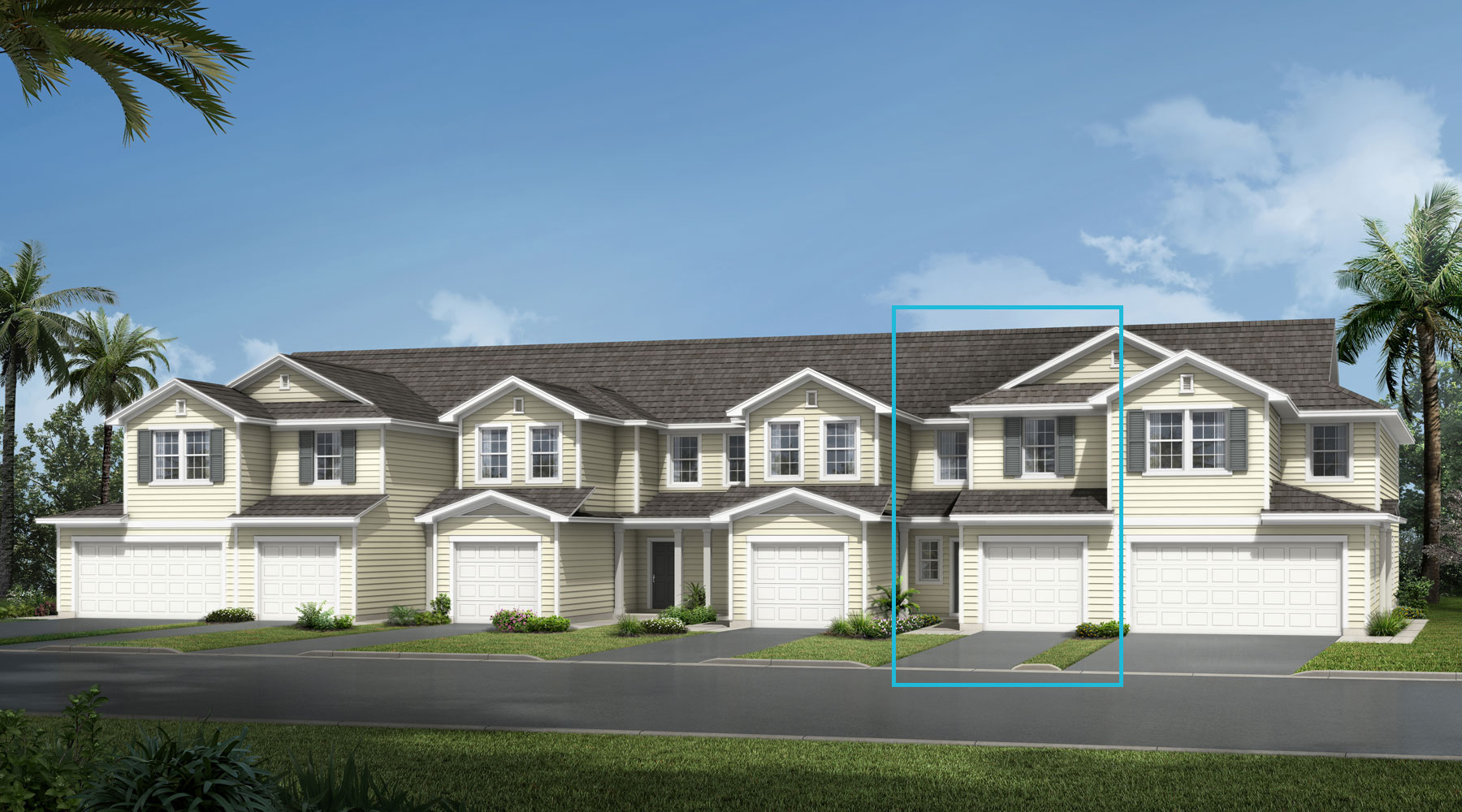 Retreat Plan elevationlowcountry_wellscreek_retreat at Wells Creek in Jacksonville Florida by Mattamy Homes