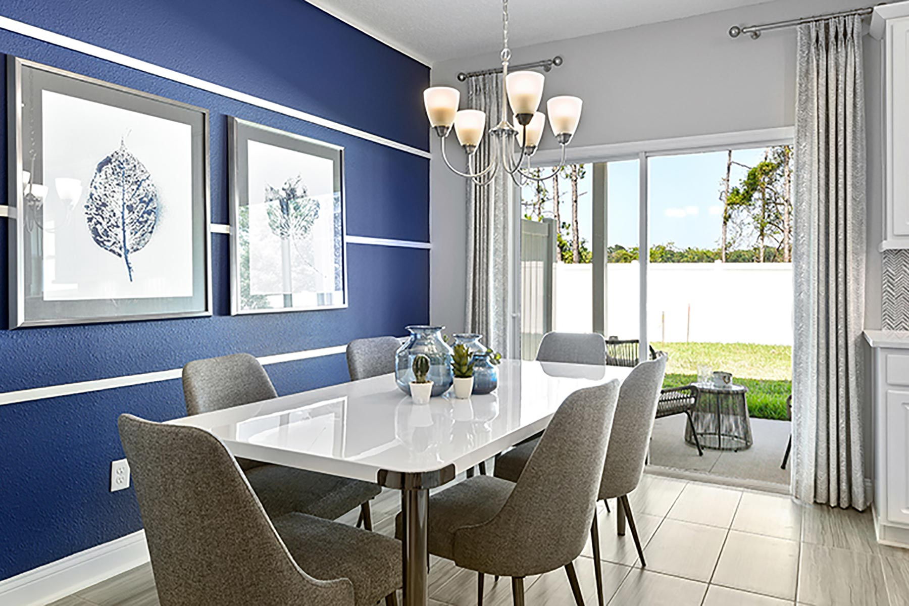 Retreat Plan Dining at Wells Creek in Jacksonville Florida by Mattamy Homes