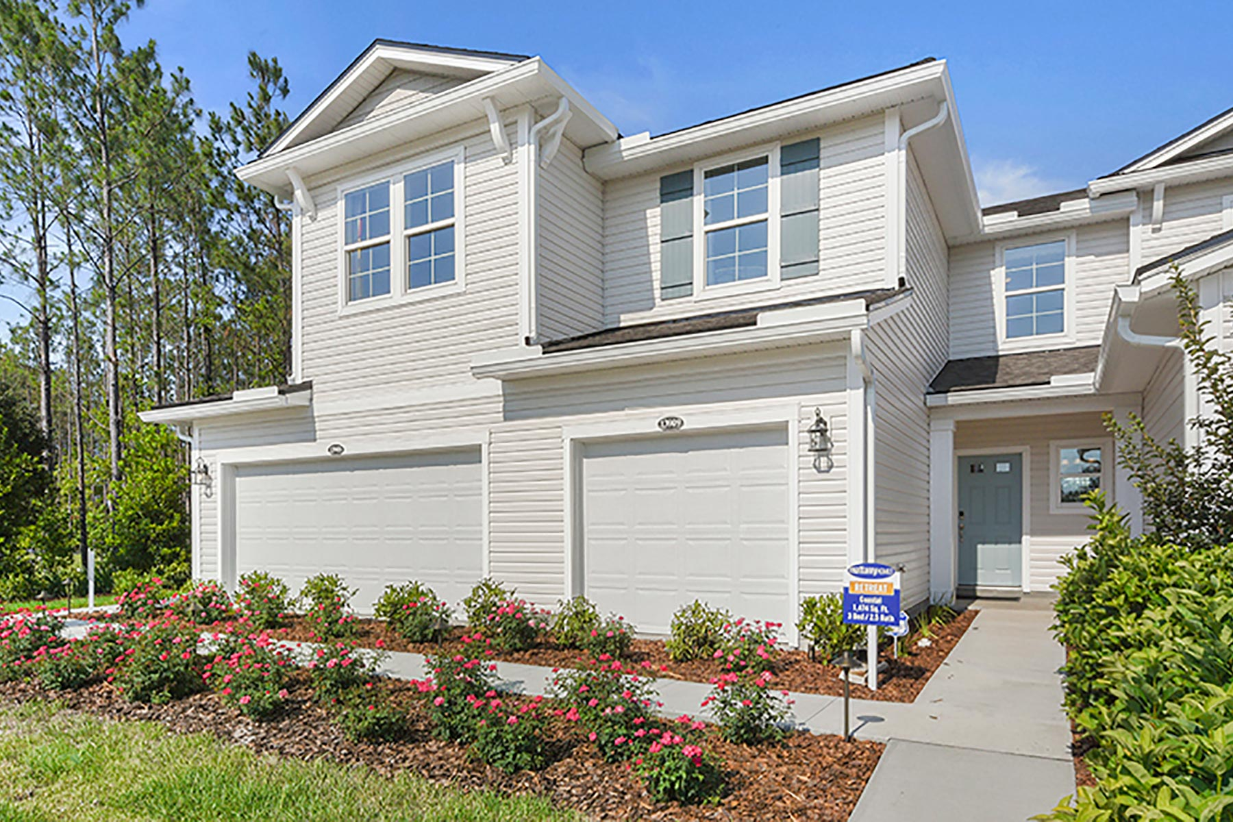 Retreat Plan Elevation Front at Wells Creek in Jacksonville Florida by Mattamy Homes