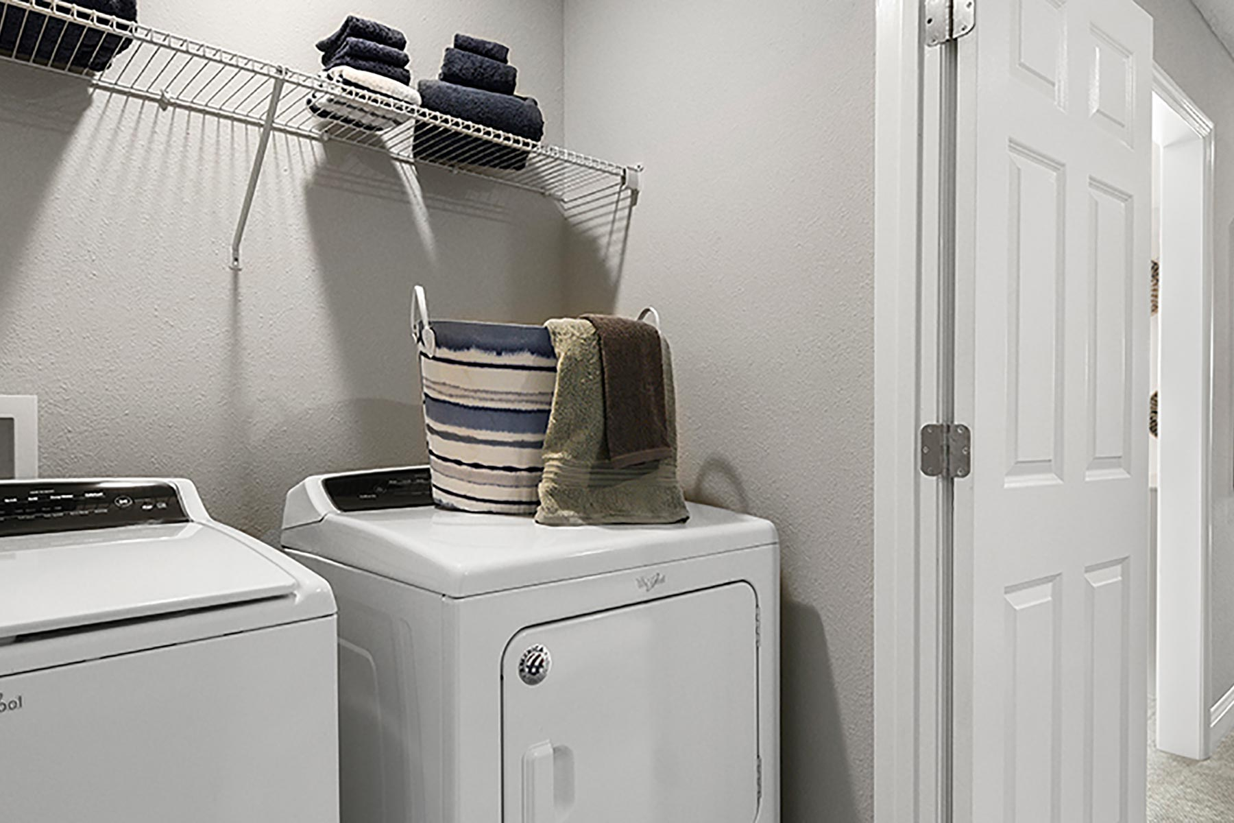 Retreat Plan Laundry at Wells Creek in Jacksonville Florida by Mattamy Homes