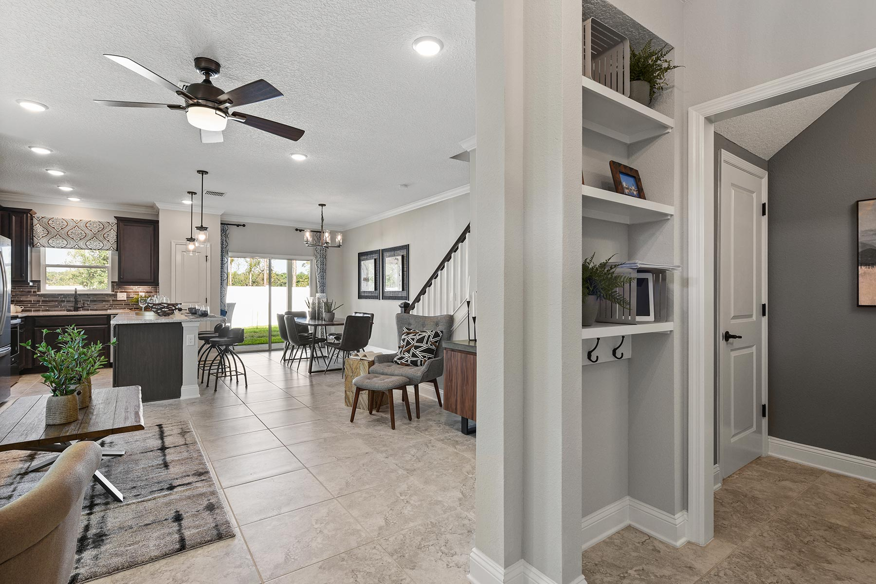 Spring Plan Foyer at Wells Creek in Jacksonville Florida by Mattamy Homes