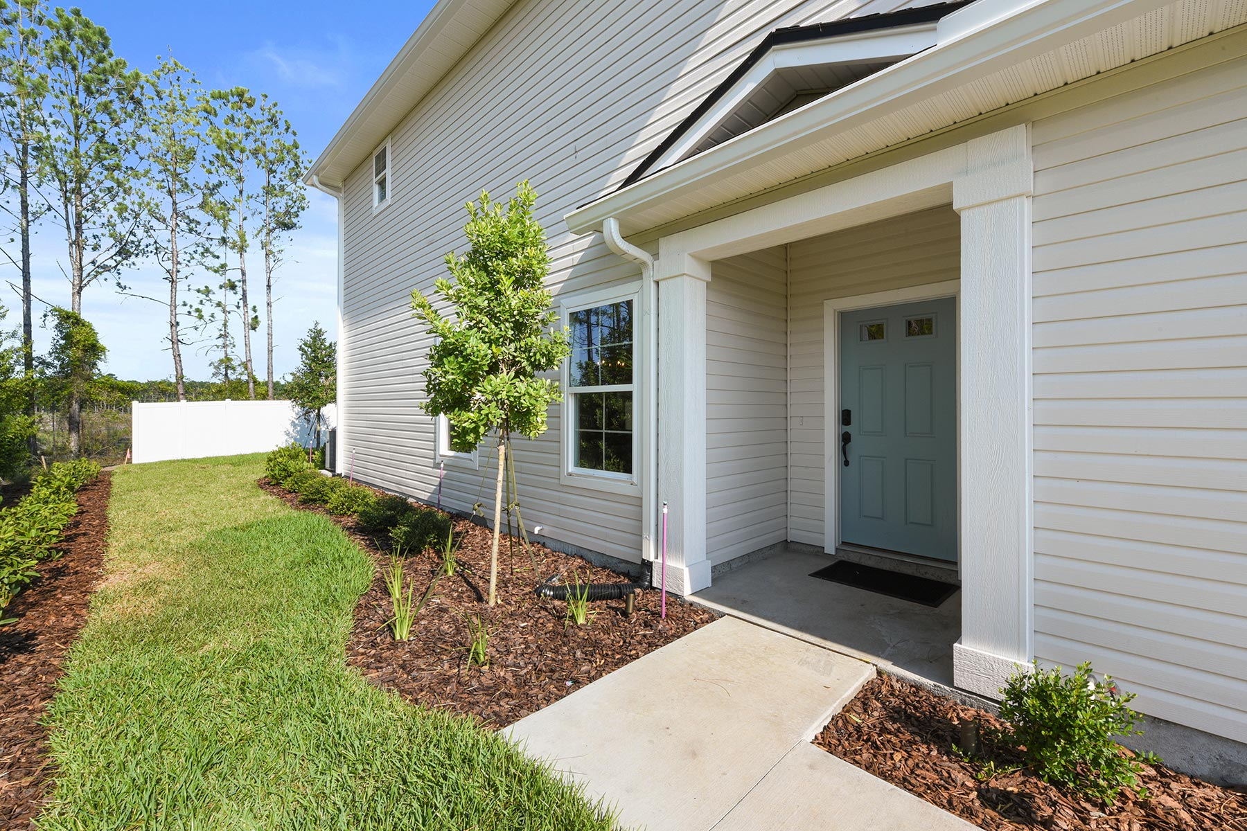 Spring Plan Front Porch at Wells Creek in Jacksonville Florida by Mattamy Homes