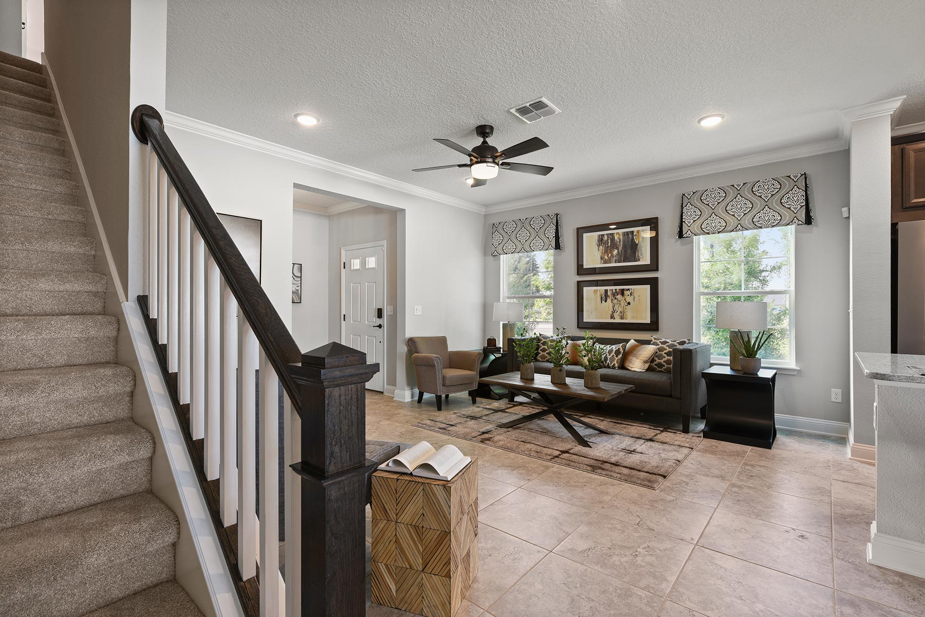 Spring Plan Stairs at Wells Creek in Jacksonville Florida by Mattamy Homes