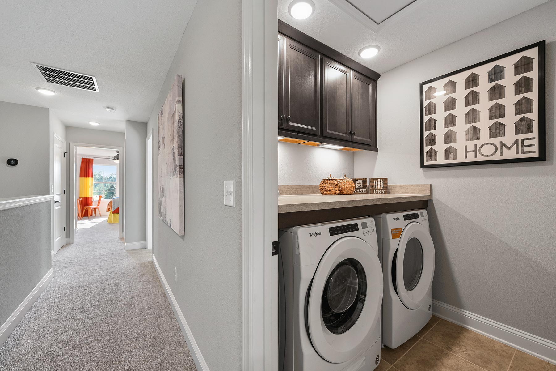 Spring Plan Laundry at Wells Creek in Jacksonville Florida by Mattamy Homes