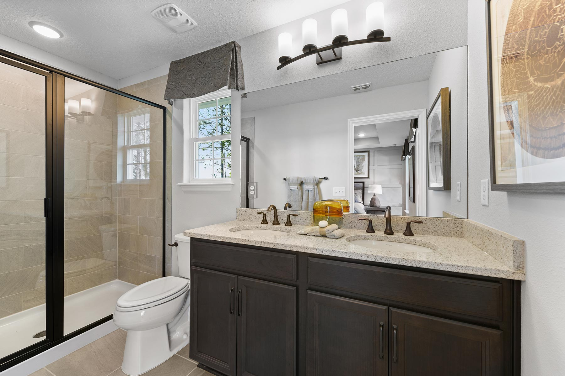 Spring Plan Bathroom_Master Bath at Wells Creek in Jacksonville Florida by Mattamy Homes