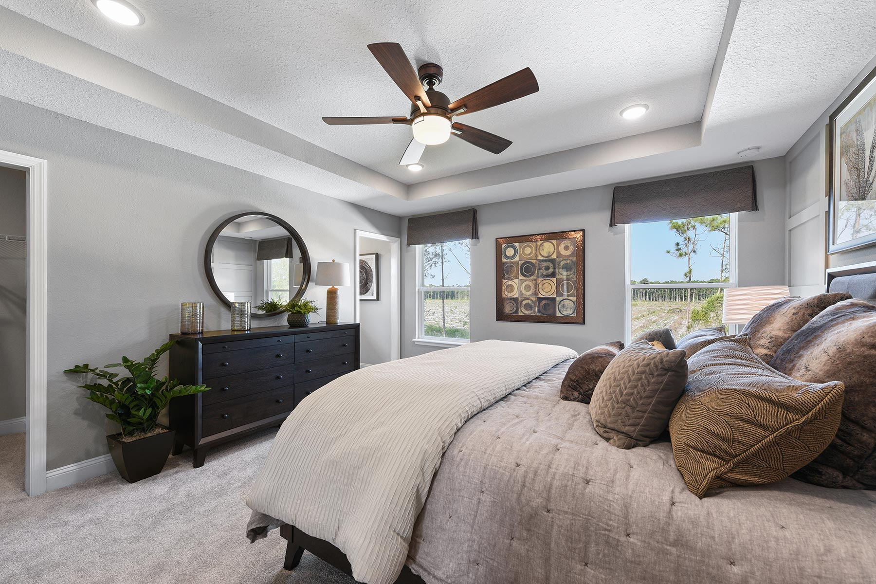 Spring Plan Bedroom at Wells Creek in Jacksonville Florida by Mattamy Homes