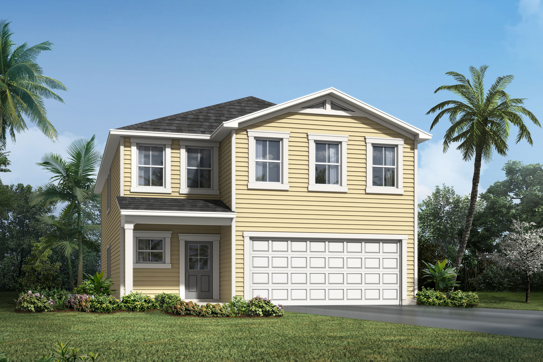 Whitney Plan ElevationLowCountry_WellsCreek_Whitney at Wells Creek in Jacksonville Florida by Mattamy Homes