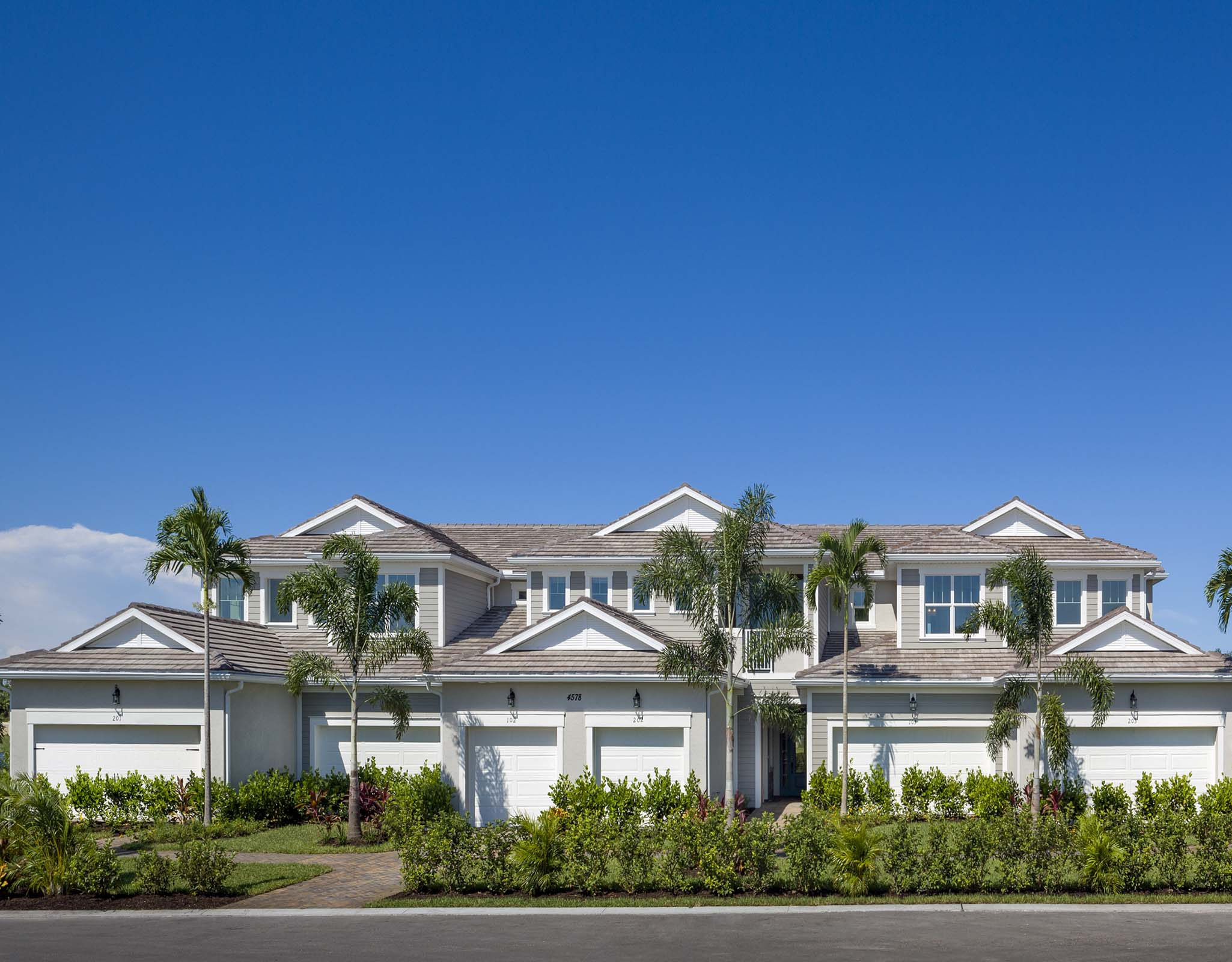 Arboretum Elevation Front in Naples Florida by Mattamy Homes