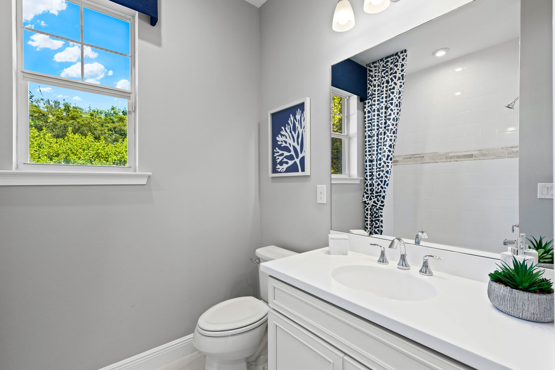 Captiva II Plan Bath at Arboretum in Naples Florida by Mattamy Homes