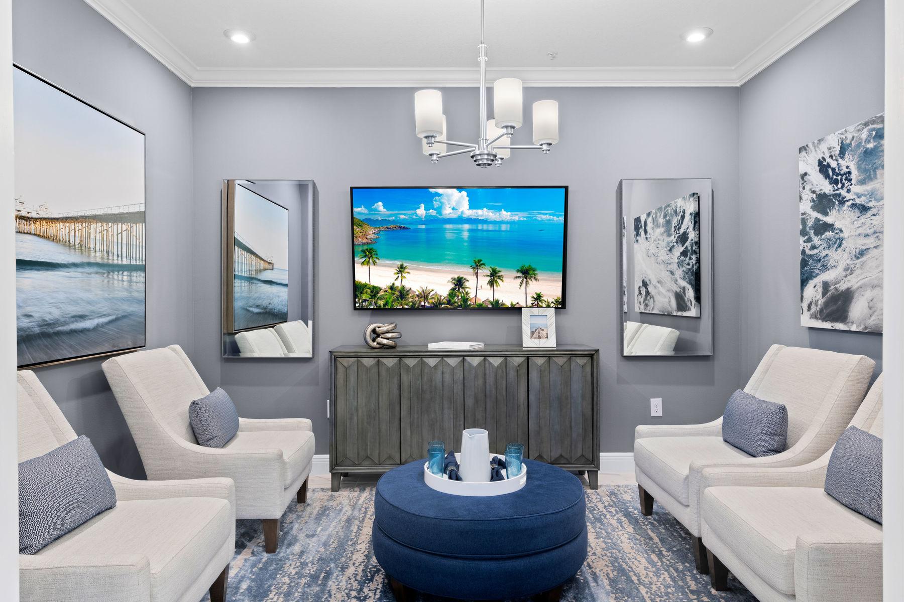 Captiva II Plan Study Room at Arboretum in Naples Florida by Mattamy Homes