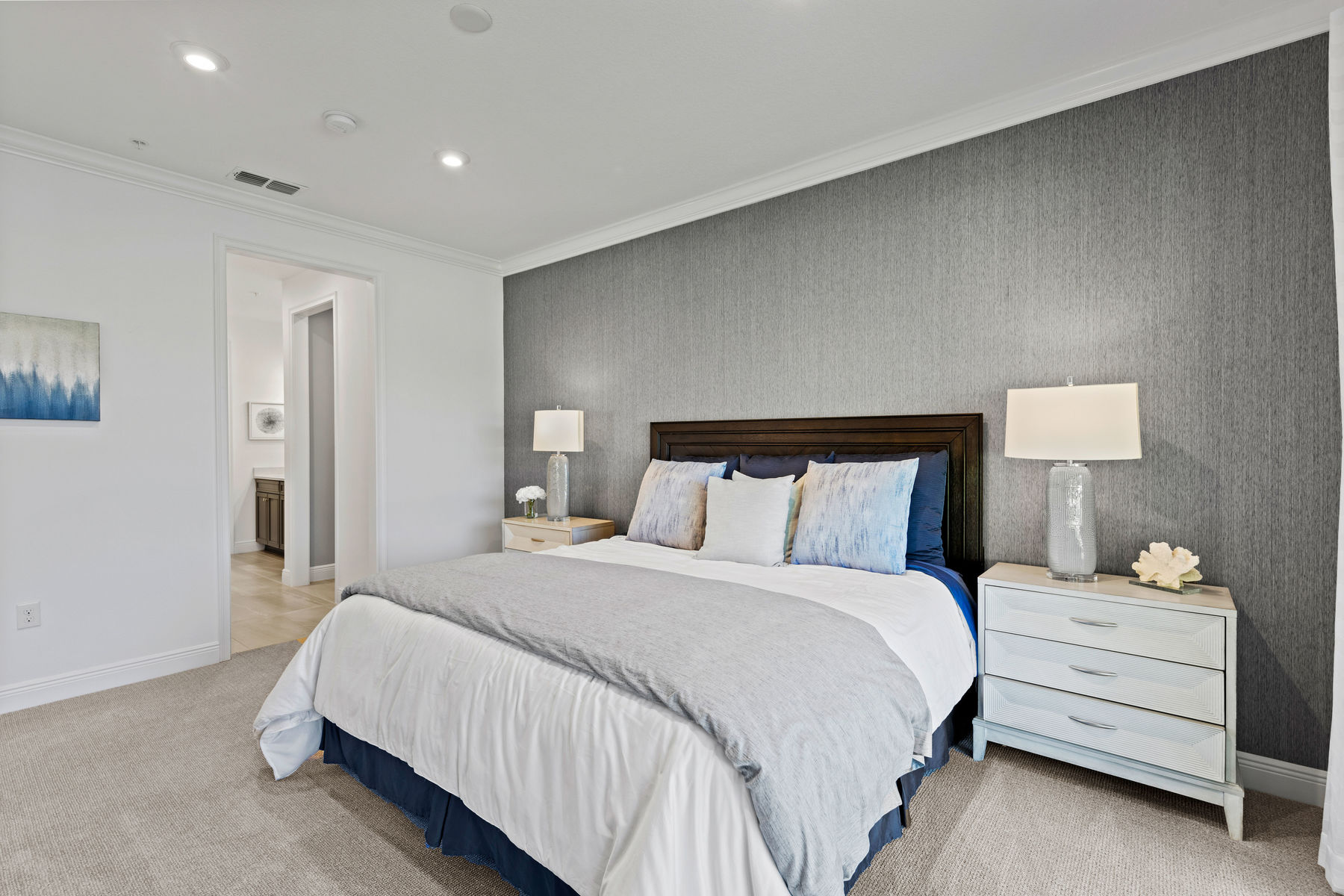 Captiva II Plan Bedroom at Arboretum in Naples Florida by Mattamy Homes
