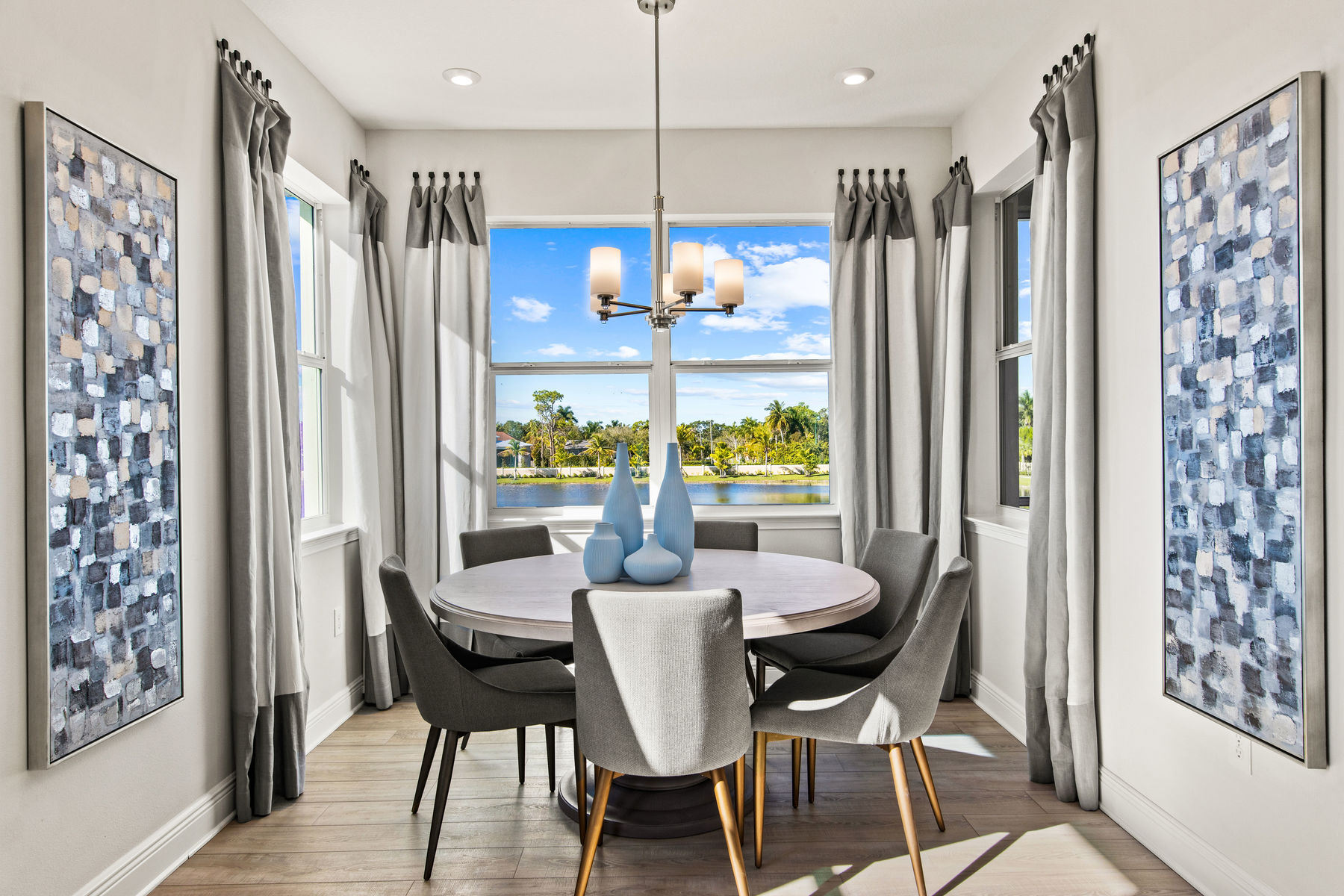 Oceangrove Plan Dining at Arboretum in Naples Florida by Mattamy Homes