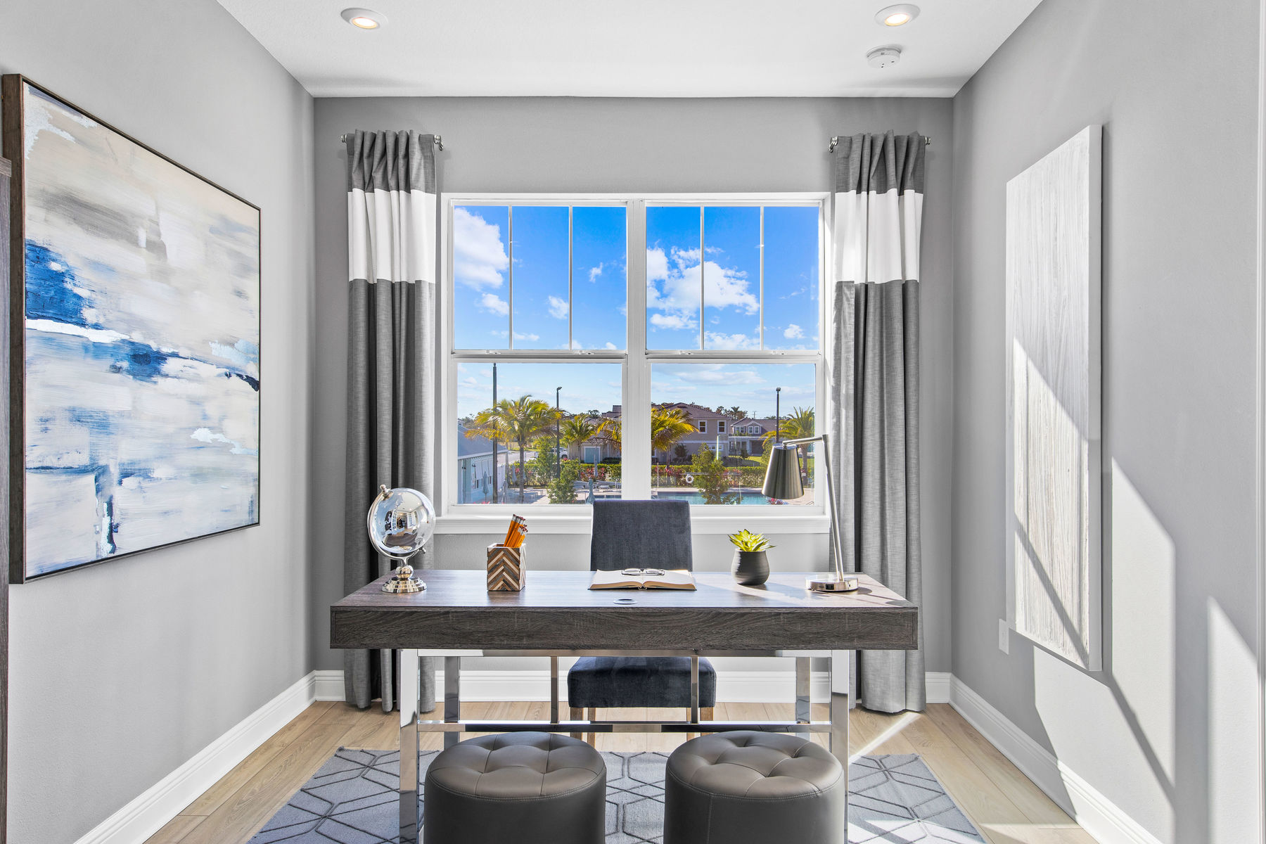 Oceangrove Plan Study Room at Arboretum in Naples Florida by Mattamy Homes