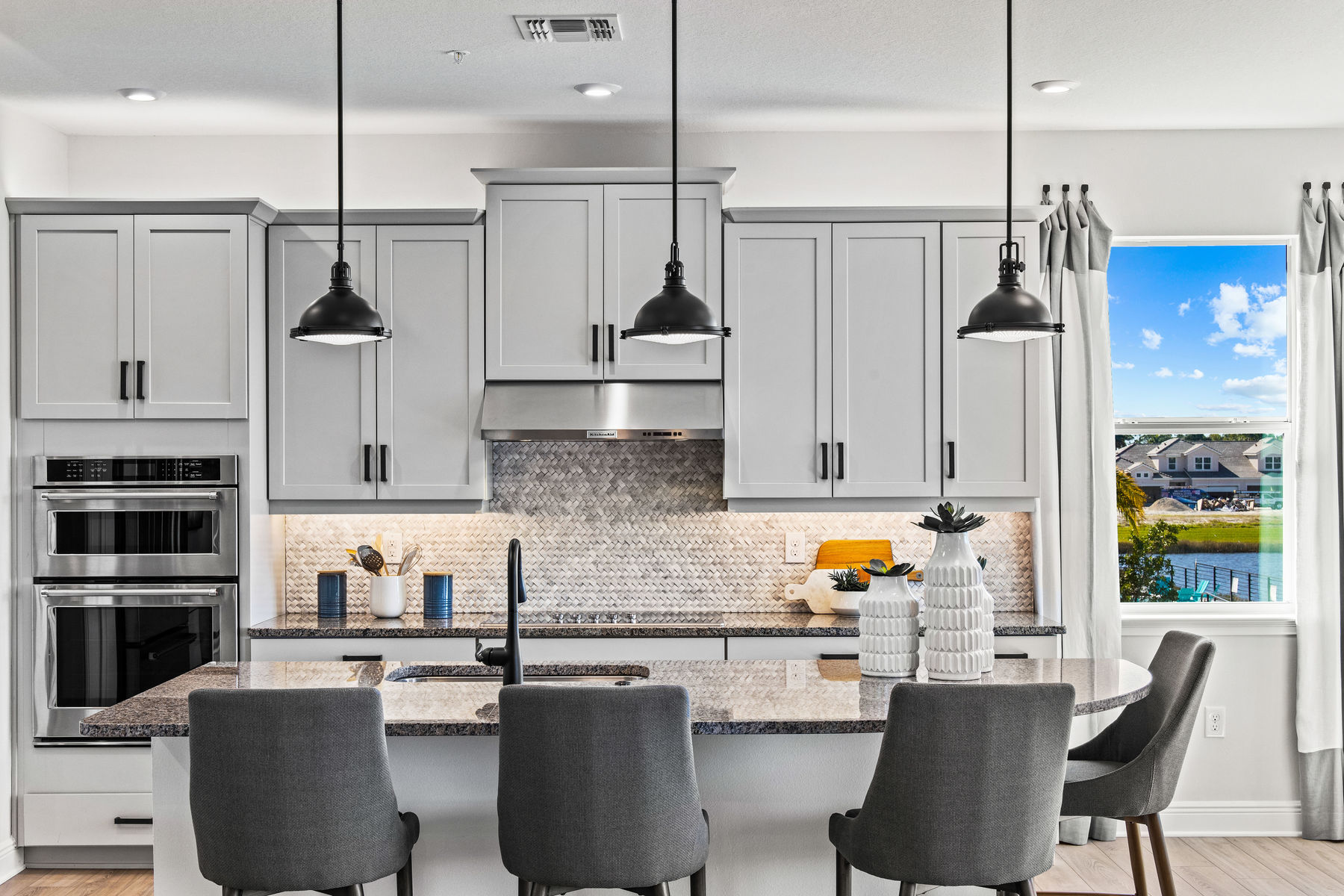 Arboretum Kitchen in Naples Florida by Mattamy Homes